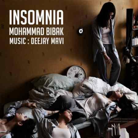 دانلود آهنگ جدید محمد بیباک بی خوابی